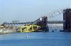 В Киеве рухнул самый большой в Украине плавучий кран