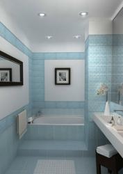 Как правильно рассчитать керамическую плитку на ванную комнату.