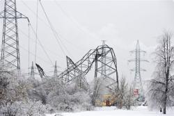 В Україні мешканці 71 населеного пункту залишилися без світла.