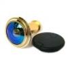 Швел Глазок дверной ГДШ-7 (синее зеркало)