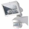 THEBEN Датчик движения LUXA 102-150/150W с галогенным прожектором, настенного монтажа Белый