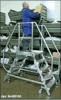 KRAUSE Лестница с платформой, двусторонняя Stabilo (3)