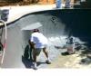 Нанесение обмазочной гидроизоляции