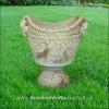 Вазон для цветов из шамотной глины АРХАР
