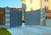 Ворота распашные въездные