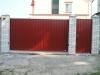 Ворота откатные въездные (металлические)