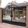 Ворота распашные въездные (металлические)