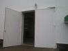 Ворота промышленные распашные (металлические)