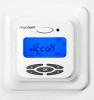 Raychem Термостат R-TC-NRG, ЖК дисплей с подсветкой, программируемый, регулирование по температуре пола / воздуха, адаптивный, два в одном, белый