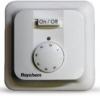 Raychem Термостат R-TE, базовый с механической регулировкой по температуре пола/воздуха, белый, IP21