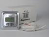 Raychem Термостат R-TC-S, ЖК дисплей с подсветкой, программируемый, регулирование по температуре пола / воздуха, серебристый, IP21