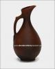 Кувшин малый  глиняный для растительного масла (литьё, гладкий)