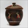 Макитра глиняная для хранения (литье, украшение)