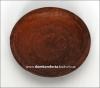 Блюдце глиняное (резное, гончарка)