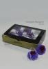Vermont Стабилизированный бутон Далия, цвет:красно-лиловый, 8 шт в упаковке (D-41638)