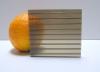 Carboglass Поликарбонат сотовый колотый лёд (бронзовый)