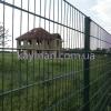 ПГ Кайман Забор металлический из сварных панелей с диаметром прута 5+4+5 мм.