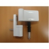 Roto Петля DoorLine PS27 17-20,5 / 42 RAL 9016 на 120 кг. белая
