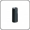 TarnaVva труба металлическая 0,5 м черная