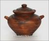 Супник глиняный новый 5л (литье, декор)