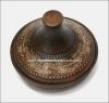 Тажин (таджин) средний  глиняный  (гончарка)