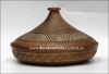 Фотография  Тажин (таджин) большой  глиняный (гончарка)
