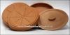 Спраутер глиняный для проращивания пшеницы из 4-х элементов (гончарка)