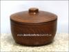 Кашник  с крышкой 2,0 л. глиняный