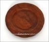 Тарелка глиняная d=20 см. (резная, гончарка)