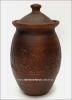 Макитра глиняная 4,0 л. с крышкой для солений (гончарка)