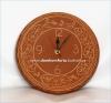 Часы настенные керамические с узором большие цифы