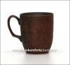 Чашка чайная ,большая глиняная  (катанка)