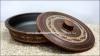 Сковорода с крышкой №3, д=26см., глиняная  (катанка)