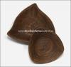 Салатник глиняный треугольный большой (гончарка)