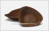 Салатник глиняный треугольный малый (гончарка)