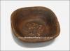 Салатник глиняный квадратный малый (гончарка)