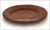 Тарелка глиняная 20 см (резная, гончарка)