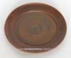 Тарелка глиняная гладкая 25 см