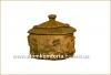Глиняный домик с лепкой 0,6 л глазурь арт. 720