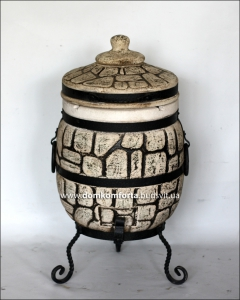 Тандыр из шамотной глины №1-С (стандарт)