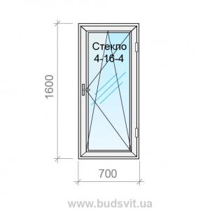 Аспект Окно из металлопластикового профиля Salamander серия 2D 4-16-4