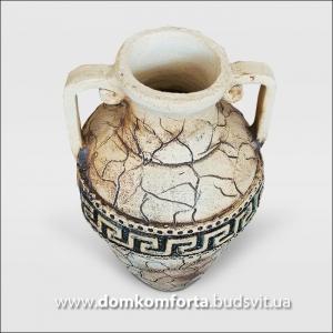 Ваза  для цветов из шамотной глины   ДАНА