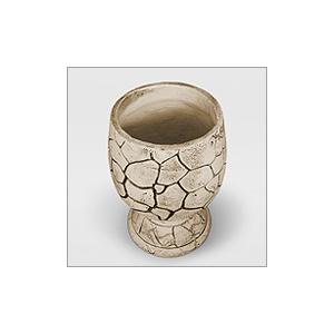 Вазон для цветов из шамотной глины ФУЖЕР