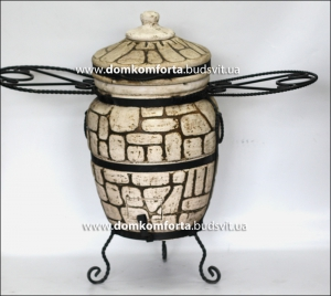 Тандыр из шамотной глины №2-С (стандарт)