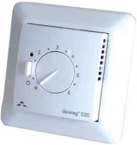 Терморегулятор для систем теплый пол Devireg™ 530 ELKO с датчиком пола