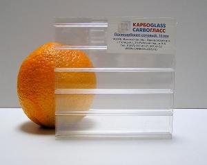 Carboglass Сотовый поликарбонат 10 мм прозрачный