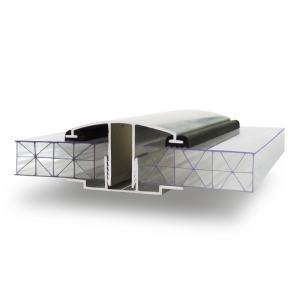 Анкор Профиль для поликарбоната ПСК, ПСБ, алюминиевый соединительный