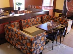 Мир мебели Диван для кафе, бара, ресторана, фастфуда, пицерии, кофейни —Тунис
