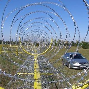 ПГ Кайман ООО Спиральный барьер безопасности СББ Концертина 700/5