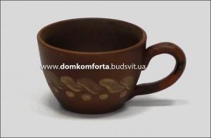 """Чашка кофейная глиняная """"Эспрессо"""""""